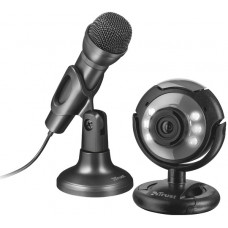 Веб камера Trust SpotLight streaming pack (webcam and microphone)