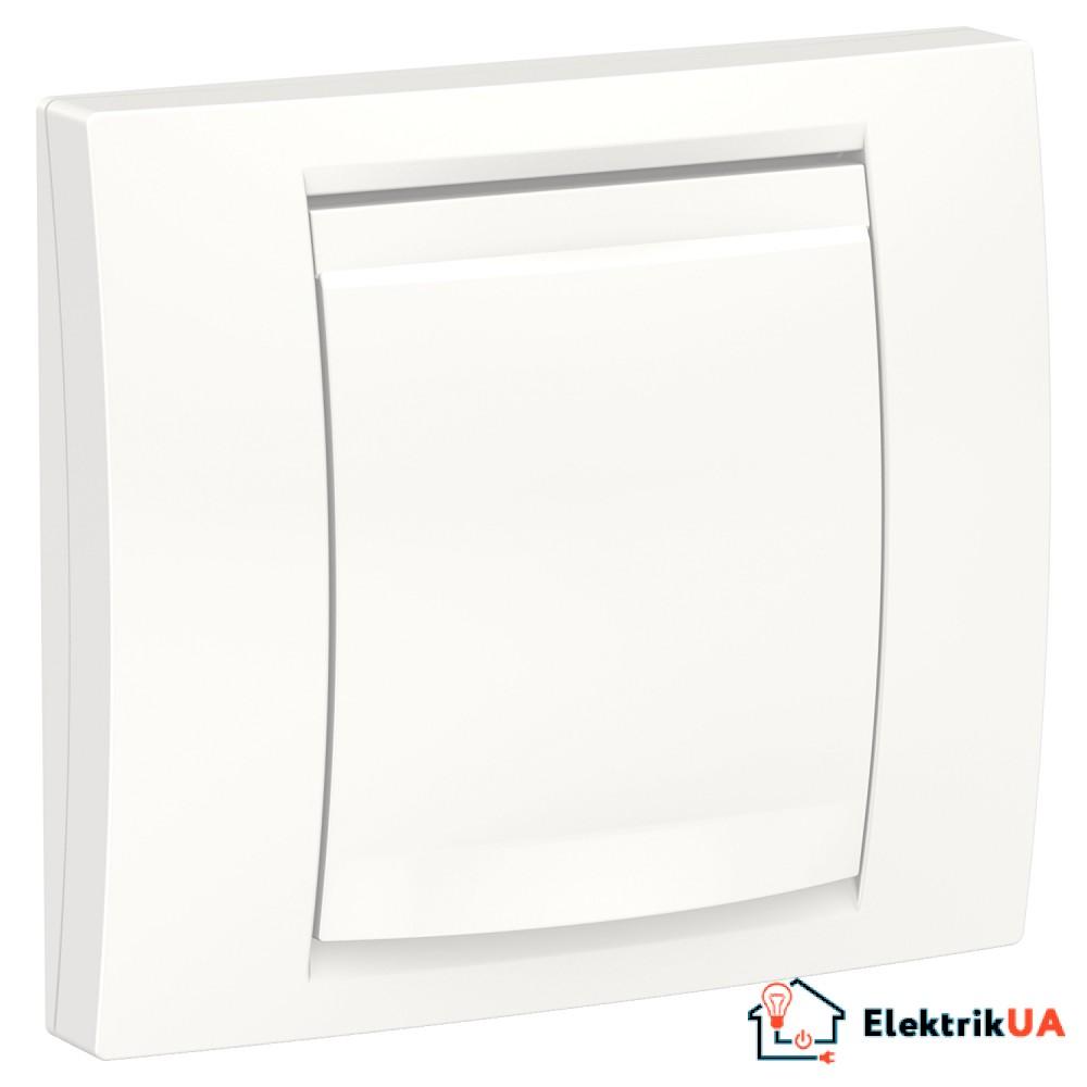 Рамка 1-постова ip44, білий