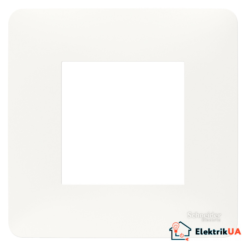 Рамка 1-постова, білий