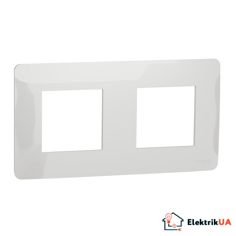 Рамка 2-постова, біла