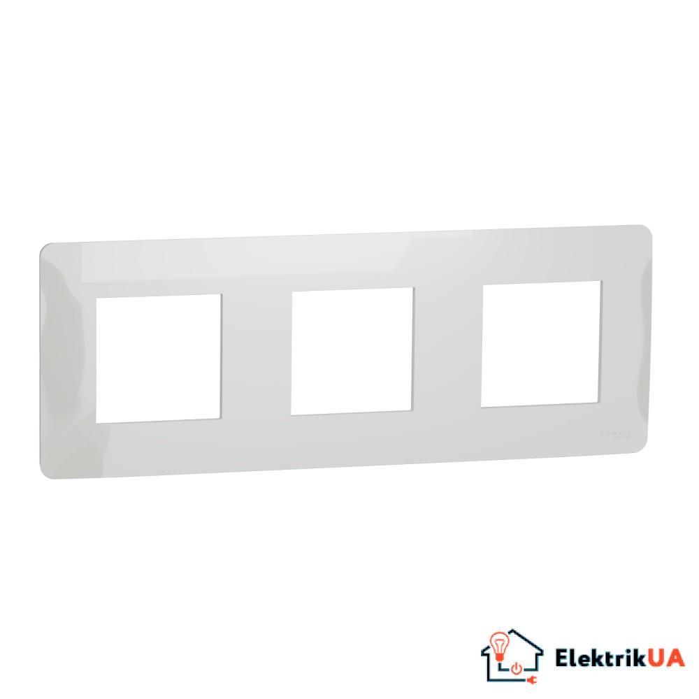 Рамка 3-постова, білий