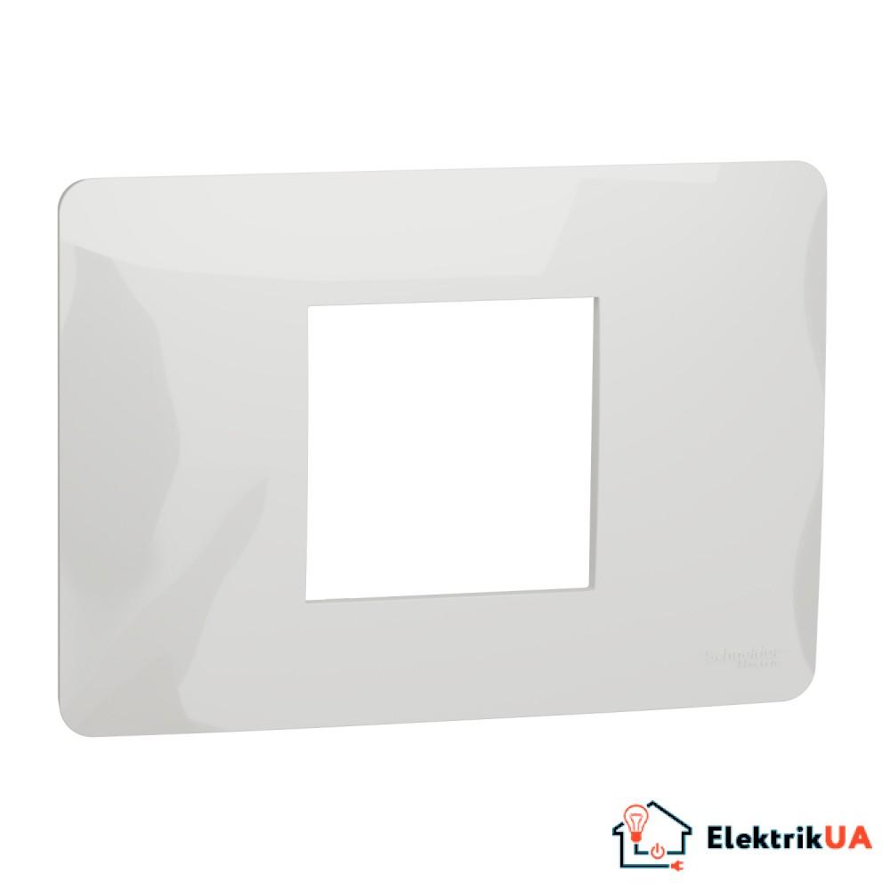 Рамка 2-модульна, білий