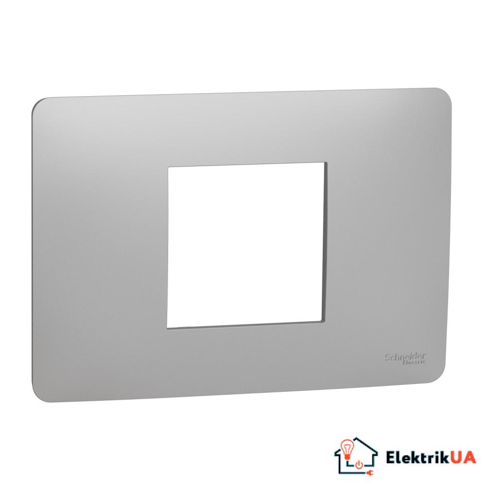 Рамка 2-модульна, алюміній