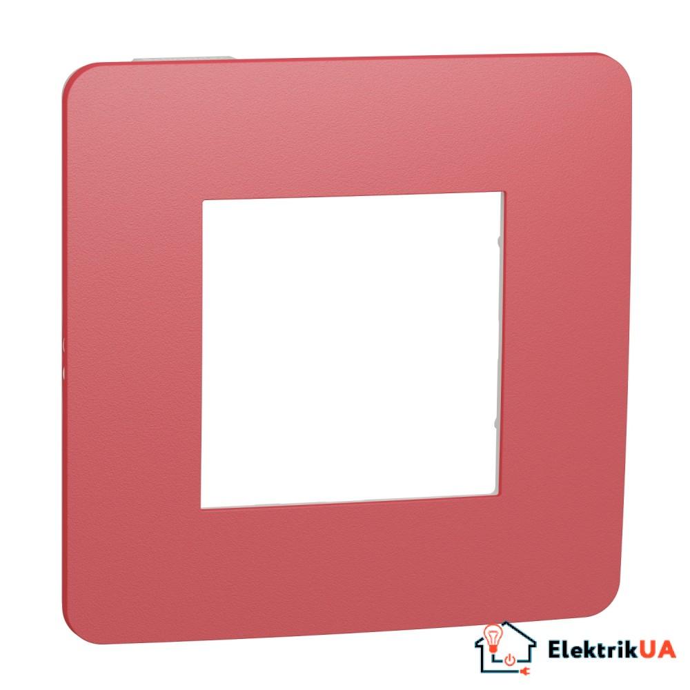 Рамка 1-постова, Червона/білий