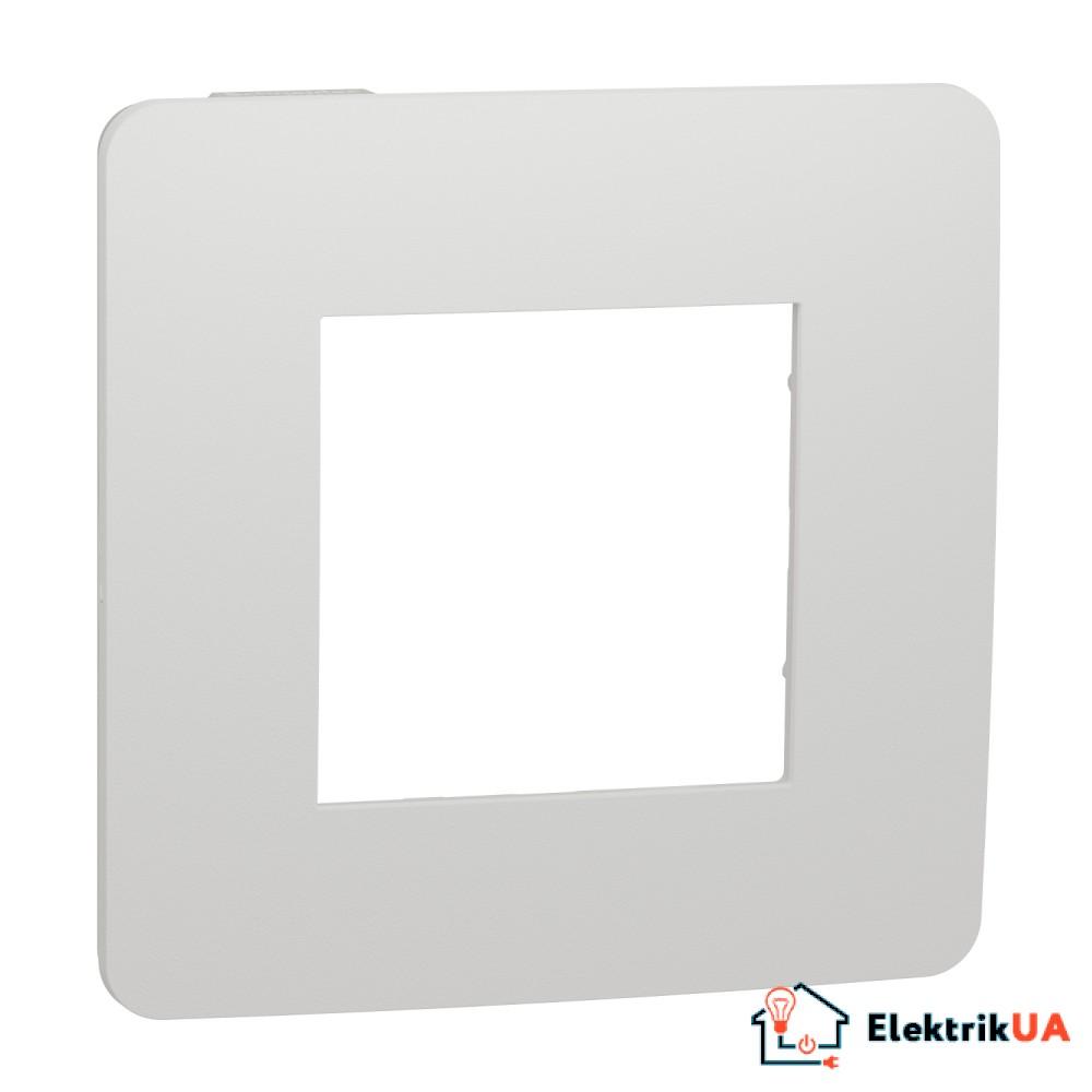 Рамка 1-постова, Білий/білий