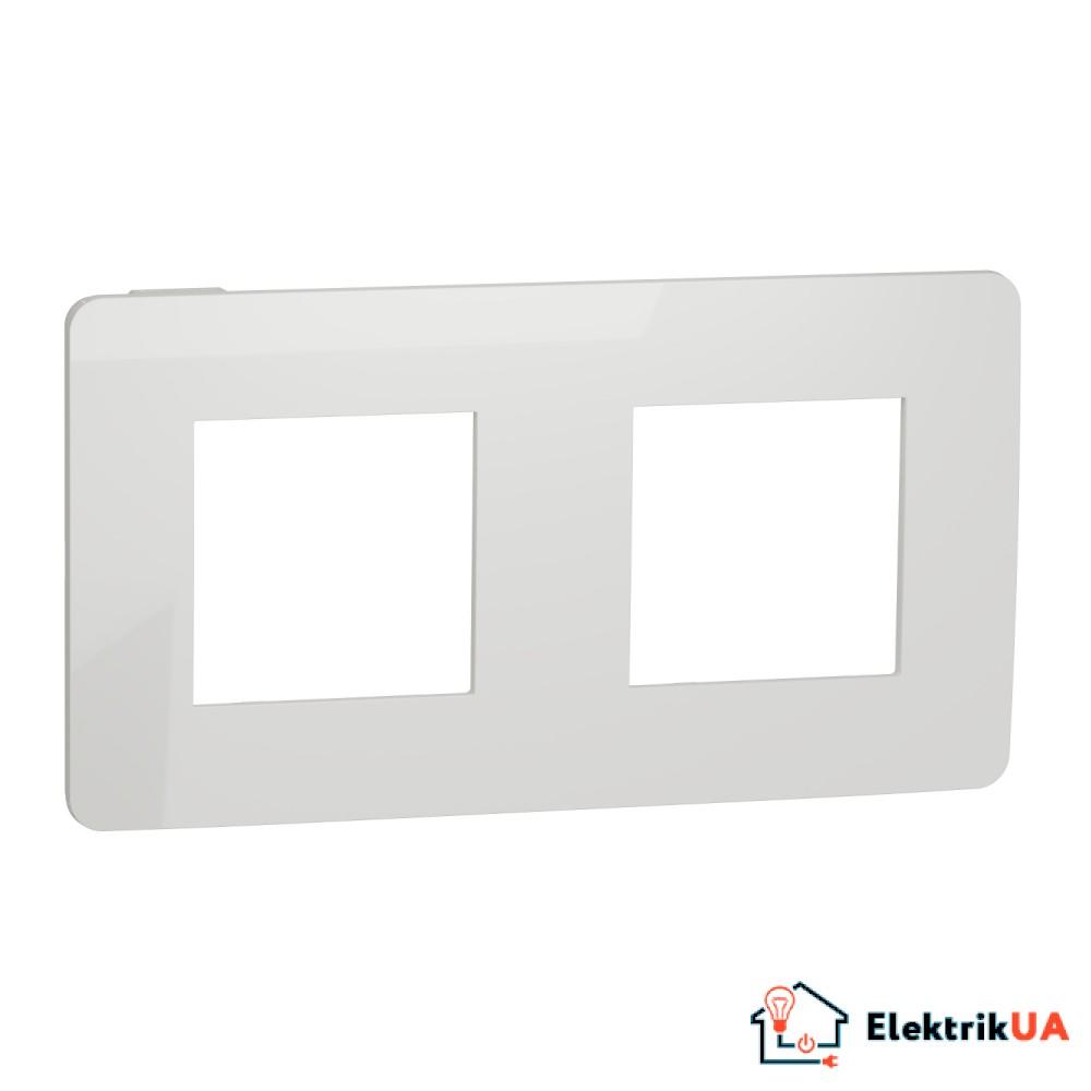 Рамка 2-постова, Білий/білий
