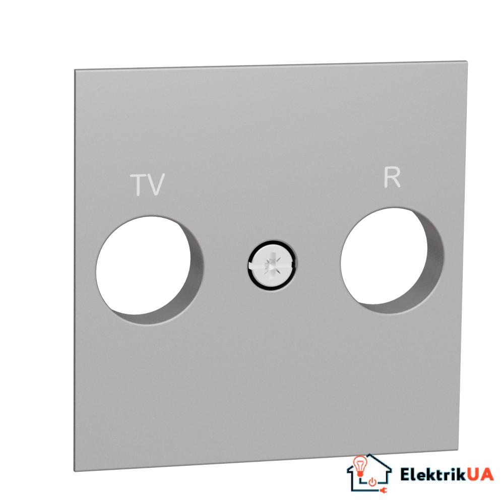 Центральна плата розетки TV/FM алюміній