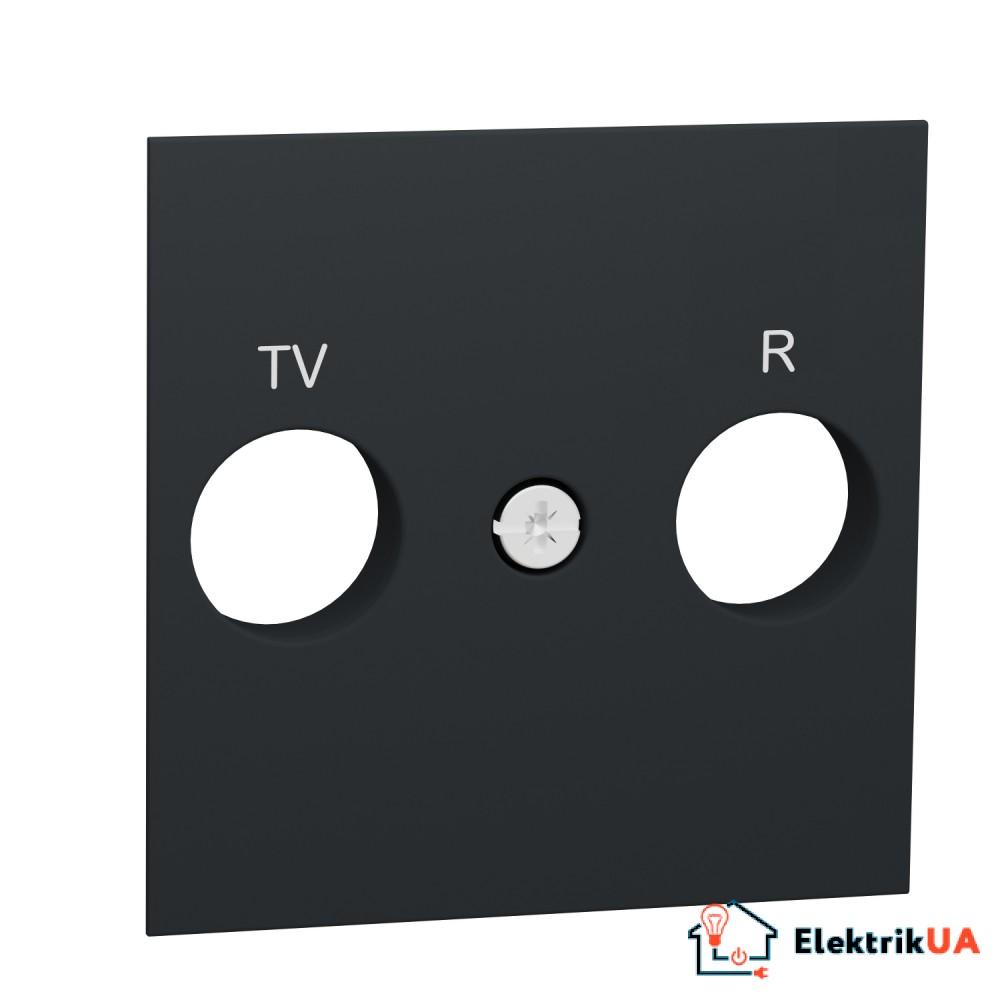 Центральна плата розетки TV/FM антрацит