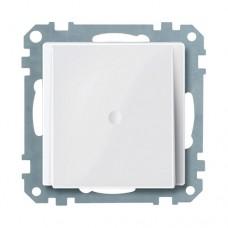 Заглушка для вывода кабеля Merten System M Белый глянцевый (MTN296819)