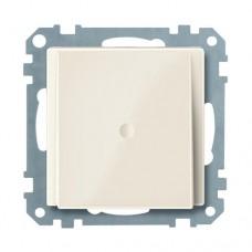 Заглушка для вывода кабеля Merten System M Бежевый глянцевый (MTN296844)