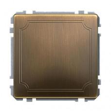 Заглушка Merten SD Античная латунь (MTN391943)