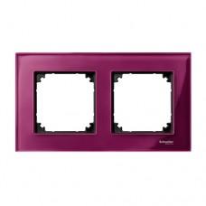 Двойная рамка Merten M-Elegance Рубин (MTN4020-3206)