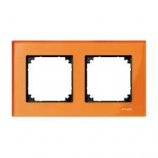 Двойная рамка Merten M-Elegance Кальцит (MTN404202)