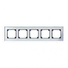 Пятерная рамка Merten M-Elegance Алмаз (MTN4050-3260)