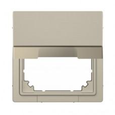 Адаптер с крышкой для интеграции изделий Merten D-Life Сахара (MTN4081-6033)