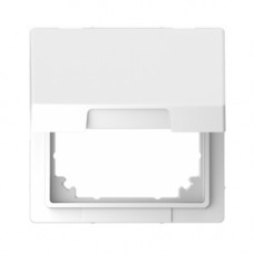 Адаптер с крышкой для интеграции изделий Merten D-Life Белый лотос (MTN4081-6035)