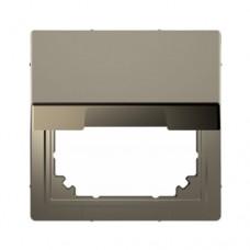 Адаптер с крышкой для интеграции изделий Merten D-Life Никель (MTN4081-6050)
