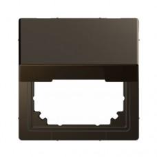 Адаптер с крышкой для интеграции изделий Merten D-Life Мокко (MTN4081-6052)
