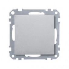 Кнопка Merten SD Алюминий  (MTN412160)