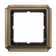 Рамка Merten Antik Античная латунь (MTN483143)