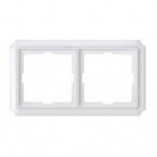 Двойная рамка Merten Antik Белый (MTN483219)