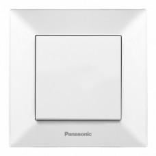 Выключатель Panasonic Arkedia Slim одноклавишный  белый