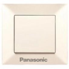Выключатель Panasonic Arkedia Slim одноклавишный  кремовый