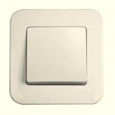 Выключатель одноклавишный VIKO Rollina Крем (90421001)