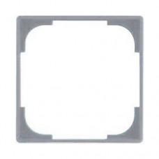 Вставка внутренняя декоративная для рамок ABB Basic55 Серебристый металлик (2516-902-507)