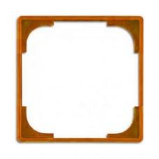Вставка внутренняя декоративная для рамок ABB Basic55 Оранжевый (2516-904-507)
