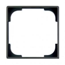 Вставка внутренняя декоративная для рамок ABB Basic55 Черный шато (2516-95-507)