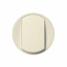 Лицевая панель 1-клавишного выключателя Legrand Celiane Слоновая кость (66200)