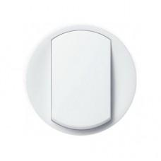 Лицевая панель 1-клавишного выключателя Legrand Celiane влагозащищенная Белая (67801)
