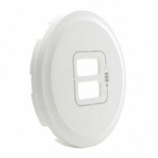 Лицевая панель USB-розетки Legrand Celiane Белая (68256)