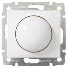 Светорегулятор поворотный Legrand Valena 40-400 Вт Белый (770061)