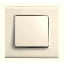 Выключатель одноклавишный VIKO Linnera Крем (90401001)