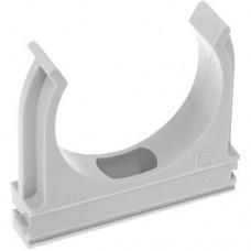 Крепеж для труб диаметр 16мм серый 100шт/уп