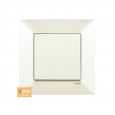 Выключатель VIKO Meridian Крем (90970201)