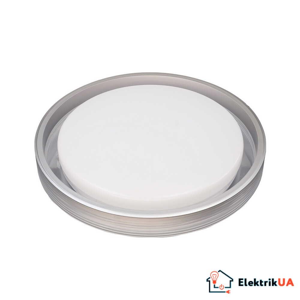 Світильник LED smart HELIX+пульт 60W 3000-6000K IP20 срібний