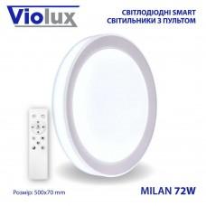 Светильник LED smart MILAN + пульт 72W 3000-6000K IP20 круг