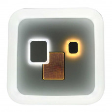 Светильник LED smart TOKIO + пульт 100W 3000-6000K IP20 квадрат