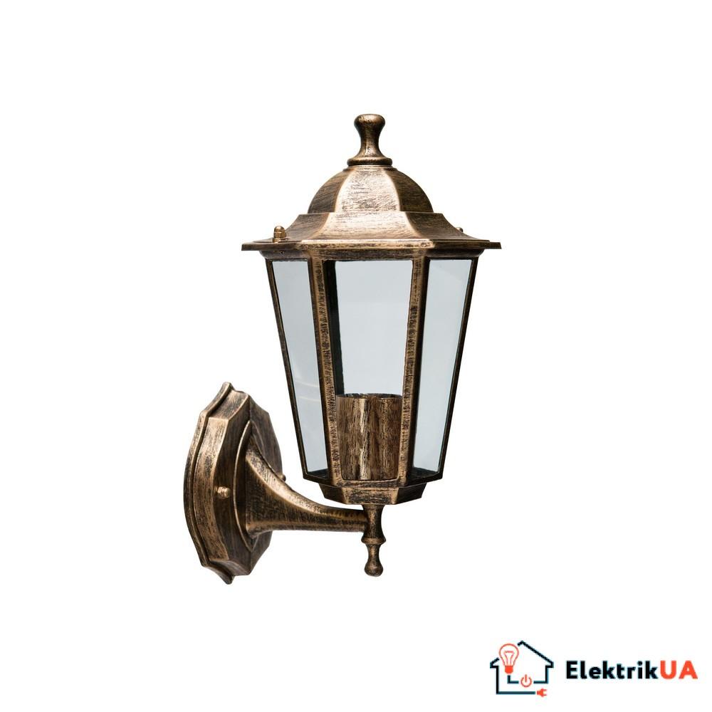 Светильник садово-парковый Violux Madrid-D античная бронза 60W Е27 IP44
