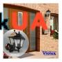 Светильник садово-парковый Violux Paris-D черный 60W Е27 IP44